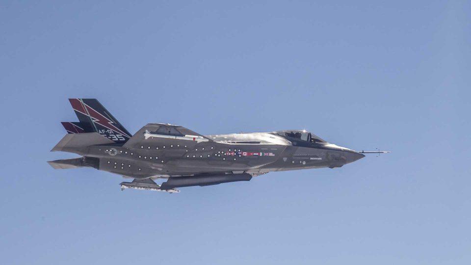 F35 kampflyene er nu finansieret