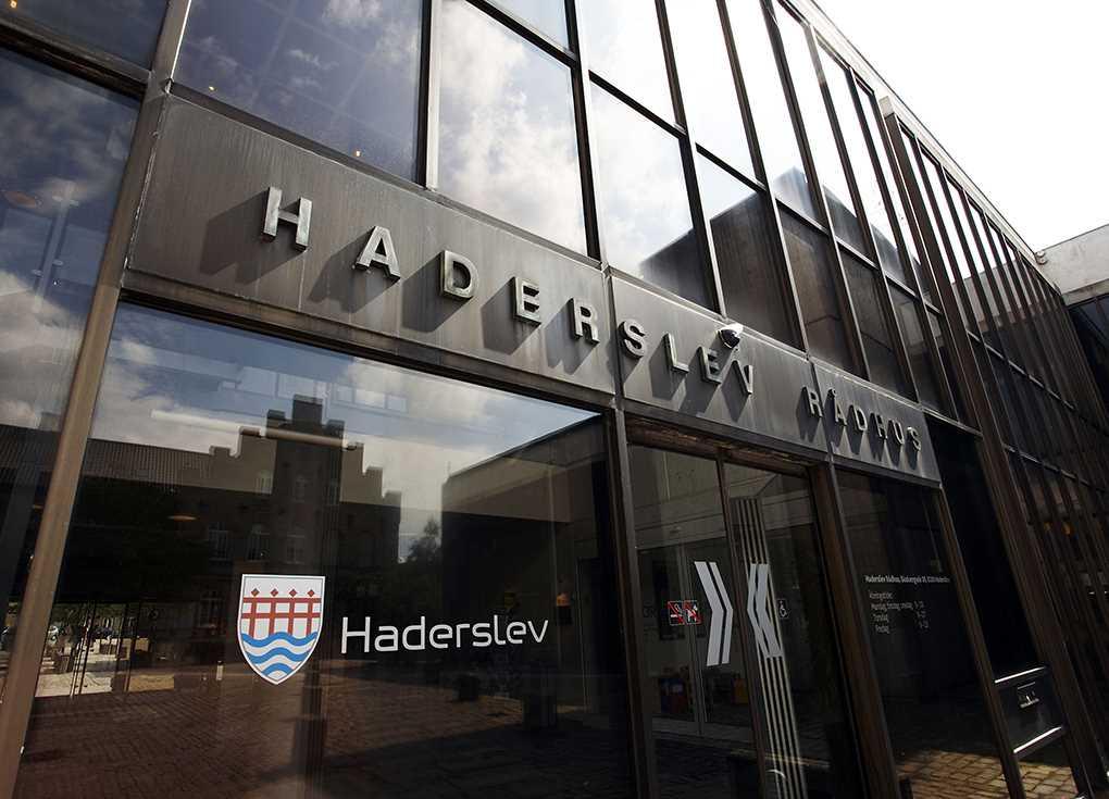 Haderslev Rådhus Foto: Pressefoto
