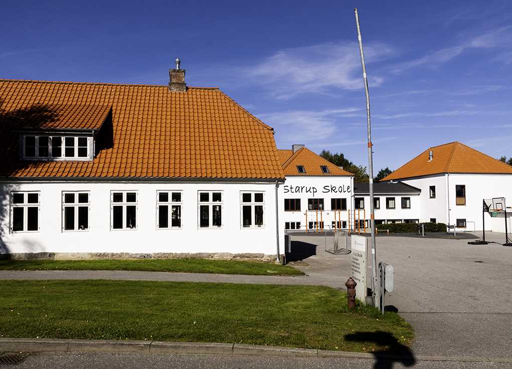 Starup skole Arkivfoto: René Holm
