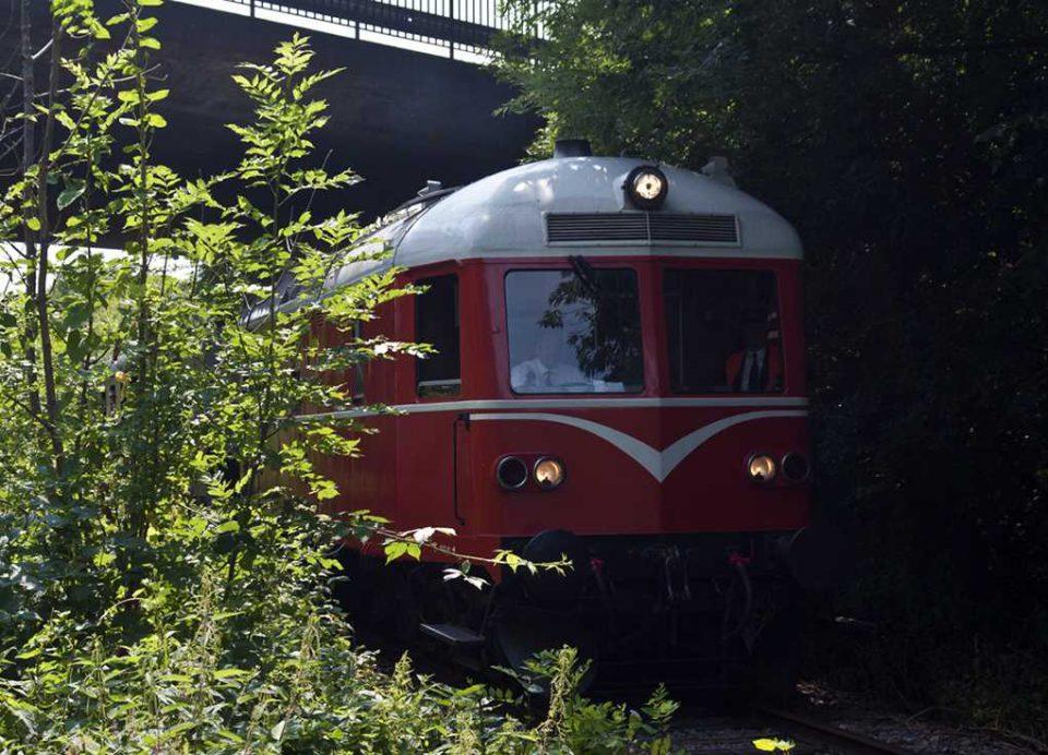 Diesellokomotiv Arkivfoto: René Holm