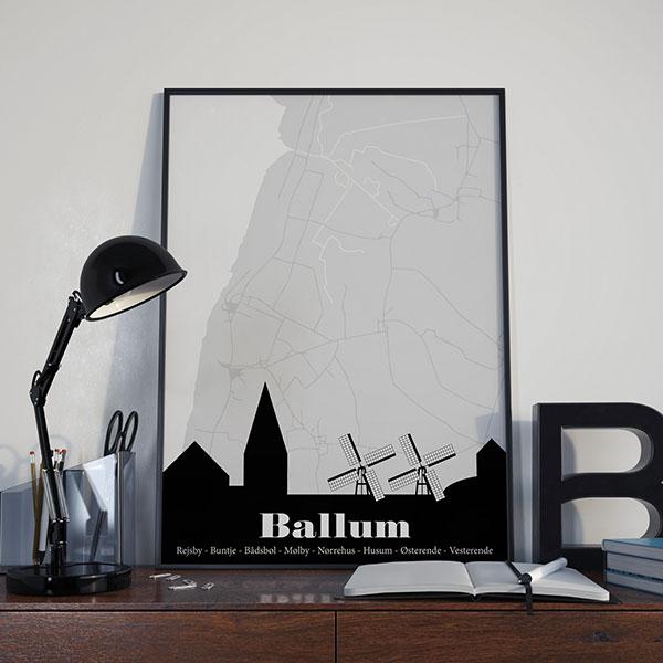 Ballum by plakat