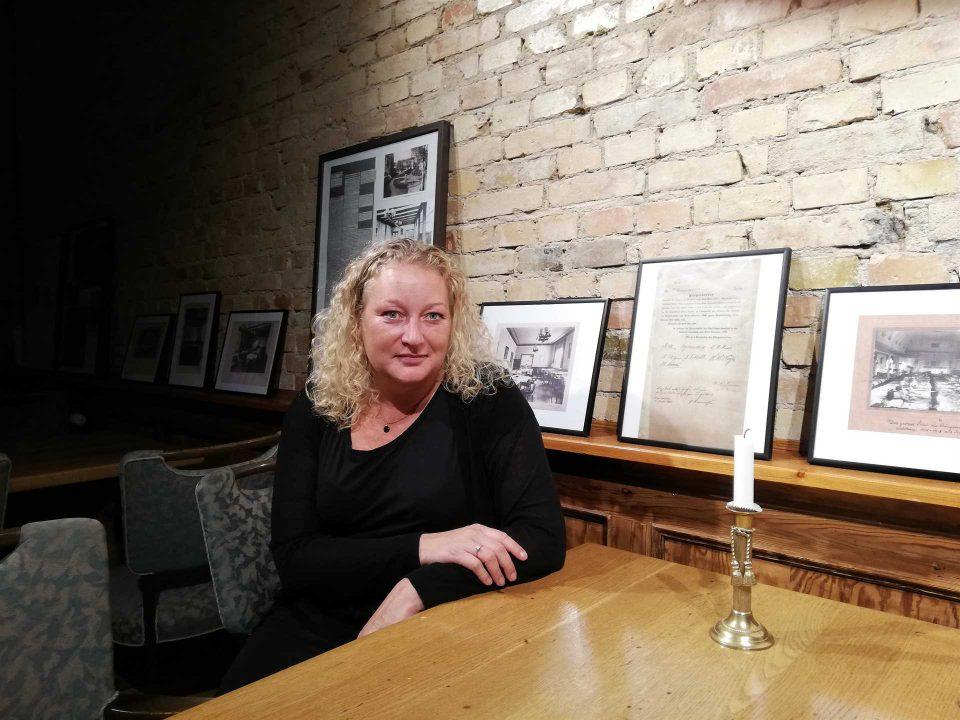 Mette Gejl Erlang i Ridderbaren på HaderslevHus Foto: René Holm