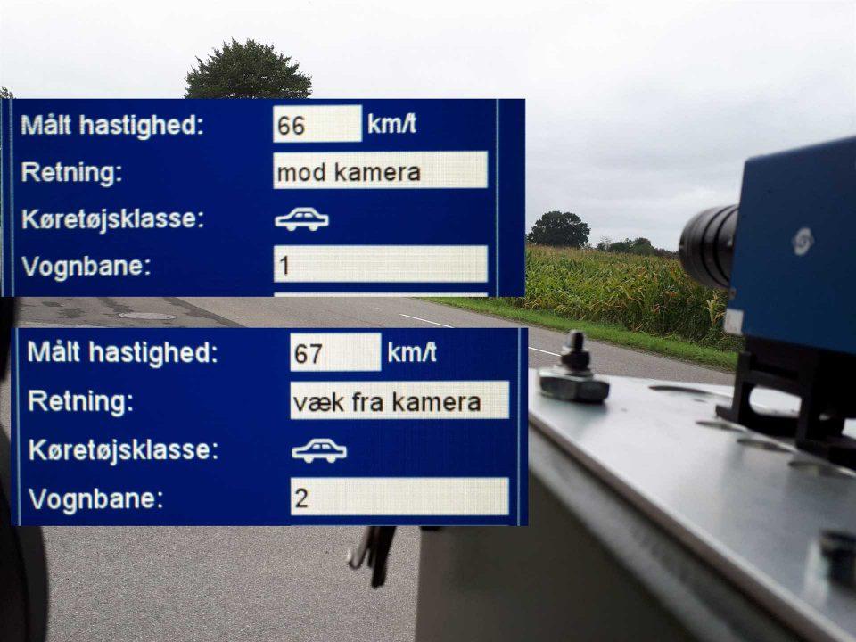 ATK måling ved Vonsbæk/Bæk Foto: Politiet på twitter