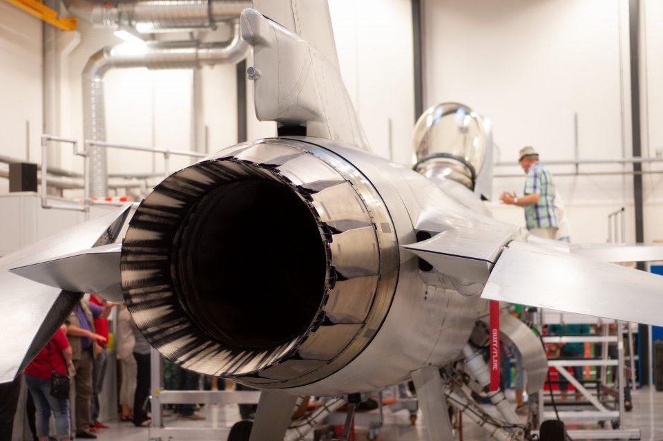 F-16 motor Foto: René Holm