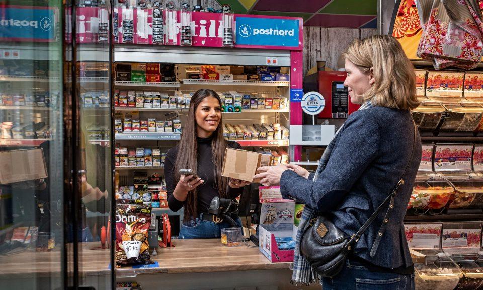 PostNord har åbnet pakkeudlevering i Fjelstrup Pressefoto: Henrik Petit