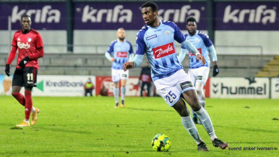 Haji Wright viste igen skarpheden mod FC Nordsjælland Foto: Svend Anker Iversen