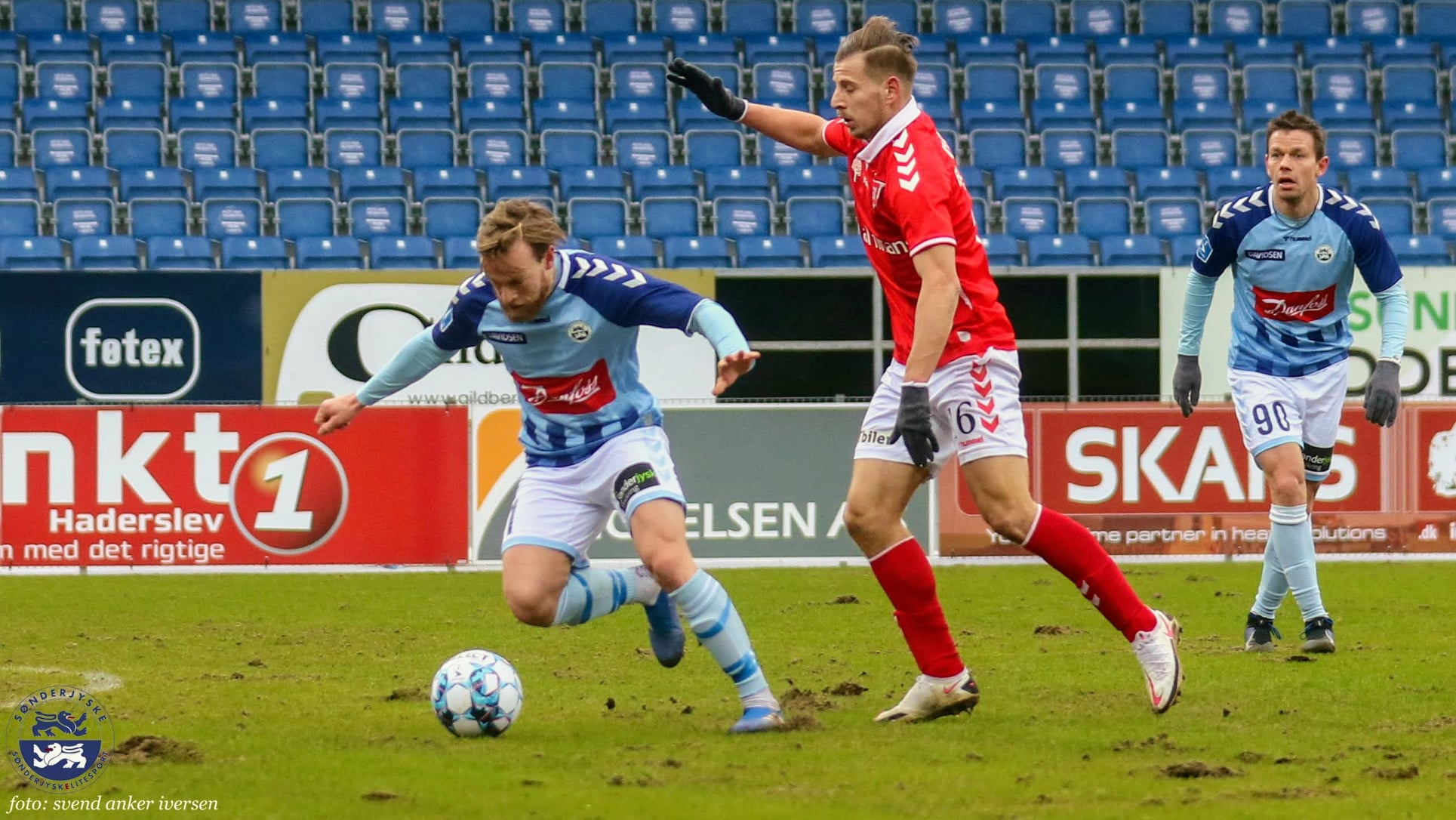 Bård Finne scorede sit første mål for SønderjyskE Foto: Svend Anker Iversen