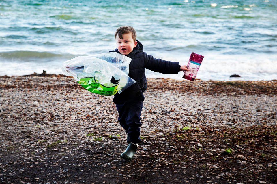 Børn fra Haderslevs skoler og institutioner skal samle affald ind Pressefoto: Ditte Valente