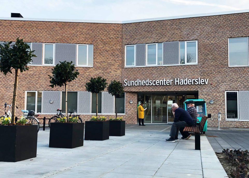 Sundhedscentret i Haderslev Foto: Haderslev Kommunes Facebookside