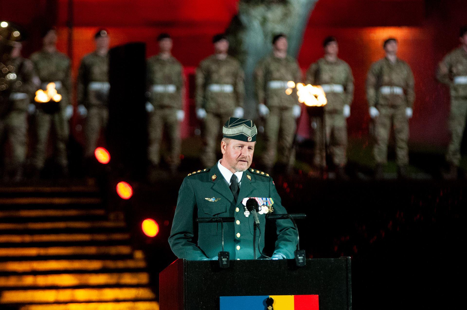 Oberst Lars Mouritsen Foto: René Holm