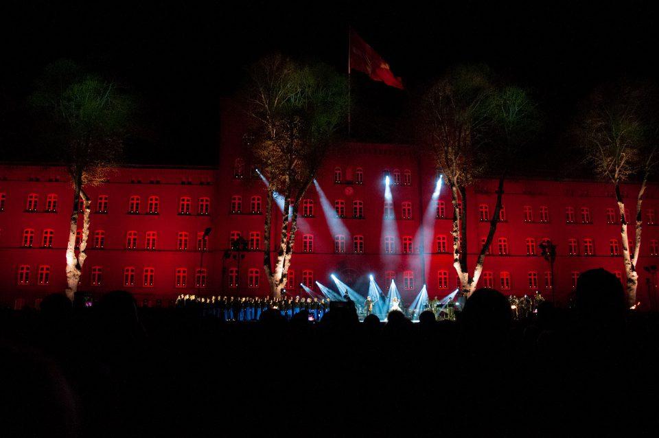 Lysfest på Haderslev Kaserne i 2019 Foto: René Holm