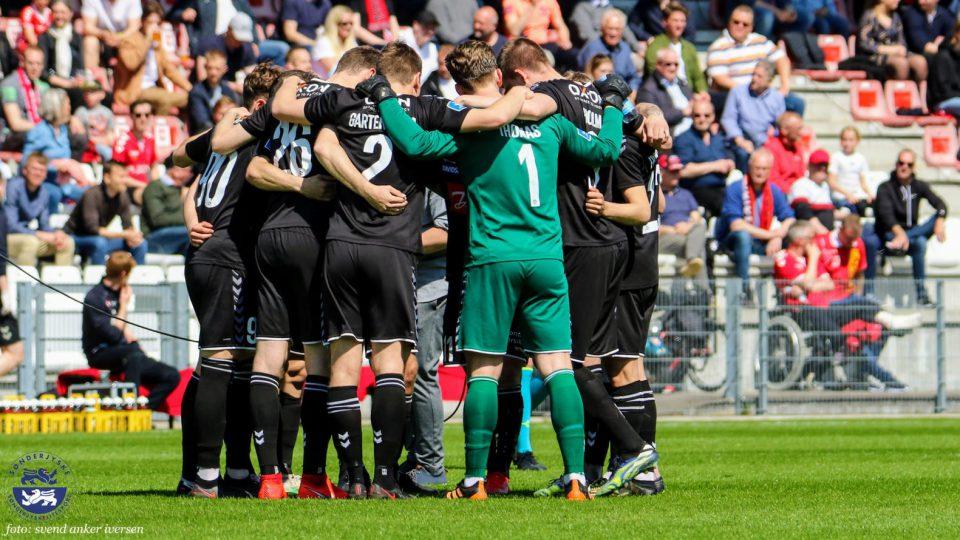 SønderjyskE fodboldtrup Foto: Svend Anker Iversen