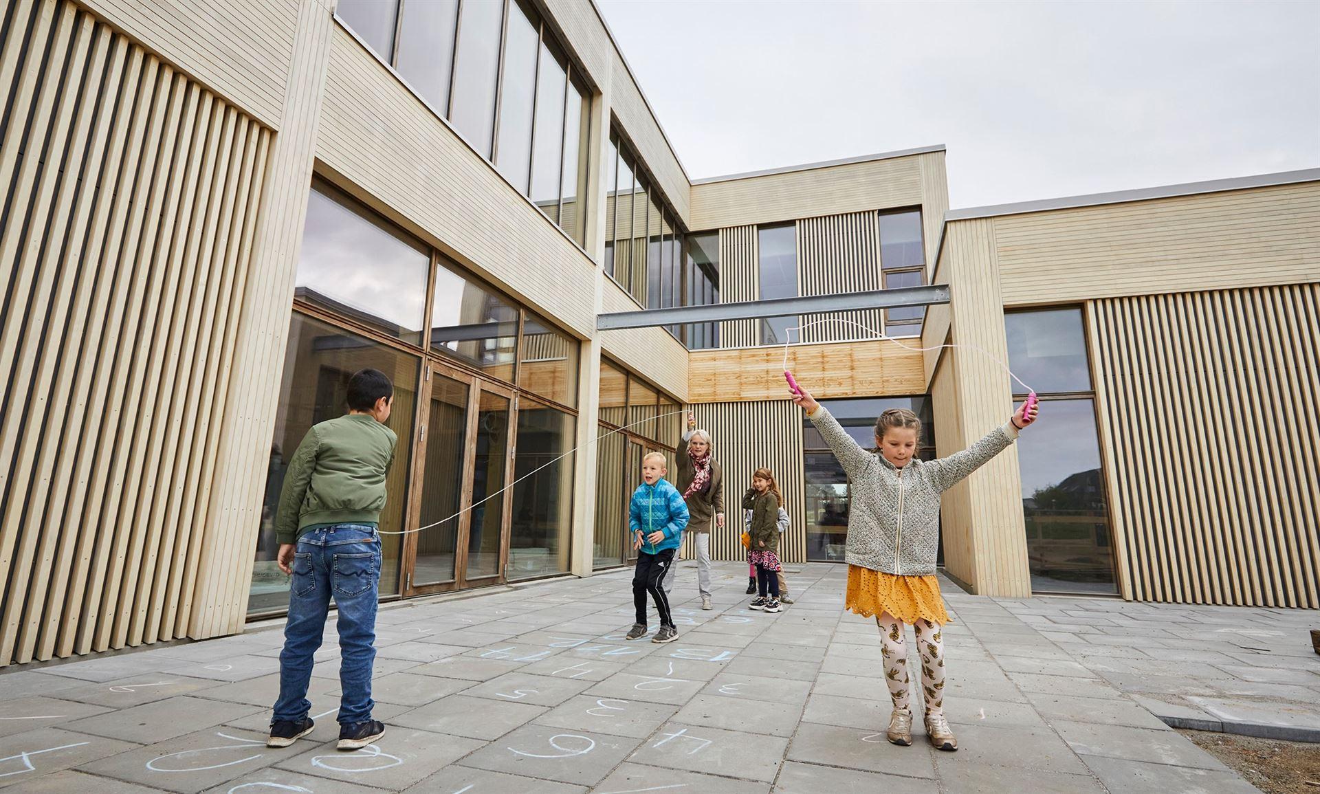 Erlev Skole Foto: Haderslev Kommunes facebookside