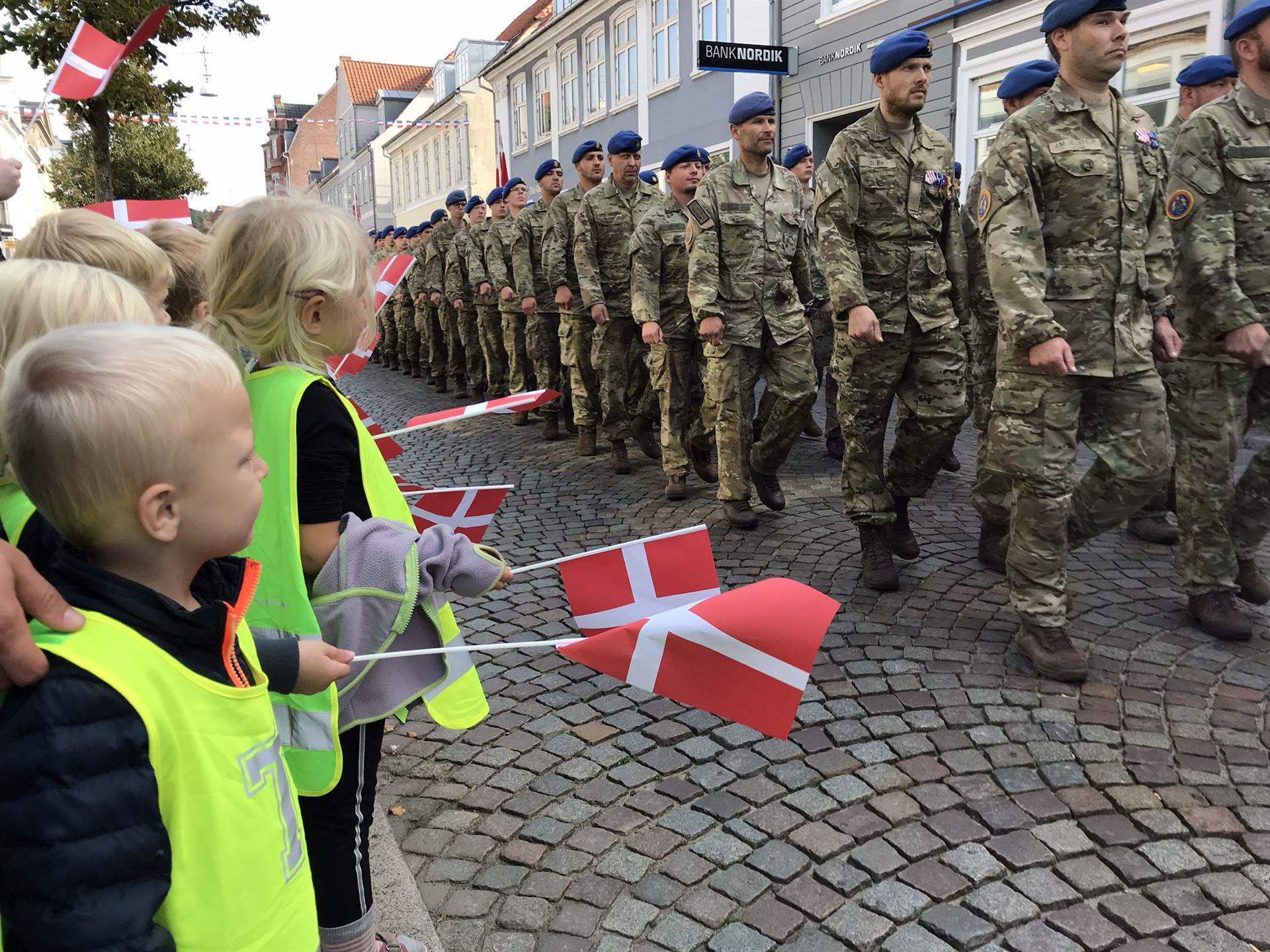 Flagdagen fejres i Haderslev Foto: Pressefoto