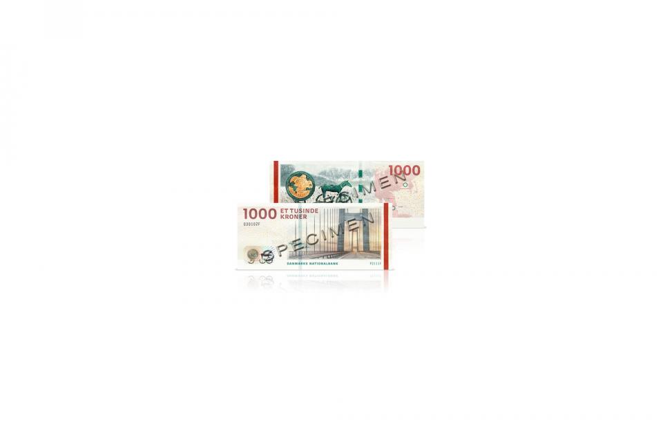 Der er lige nu falske 1000 krones sedler i omløb Foto: Nationalbanken